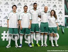 Palmeiras 2013 Adidas Away Football Shirt