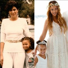 Beyonceand & her mother, Beyonce as a mother