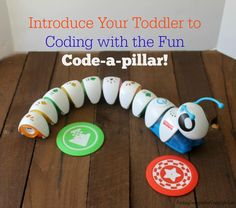 Introduce your toddlers to coding with this fun interactive Code-a-pillar by @FisherPrice #TechToys #ad @BestBuy