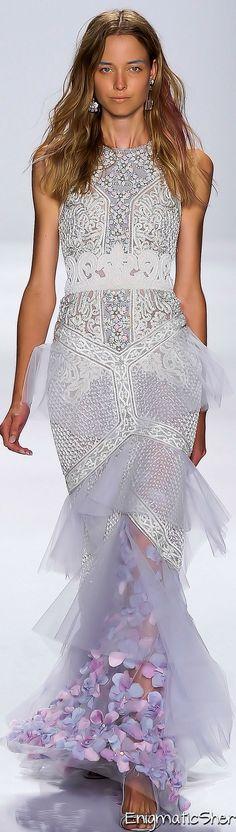 Badgley Mischka Spring Summer 2015 Ready-To-Wear