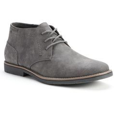 SONOMA life style Men's Chukka Boots ($45) ❤ liked on Polyvore featuring mens, men's shoes and men's boots