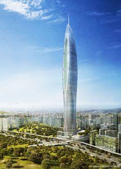 Seoul Light DMC Tower, Seoul-South Korea, 640.4 m, vision, architect-Studio Daniel Libeskind