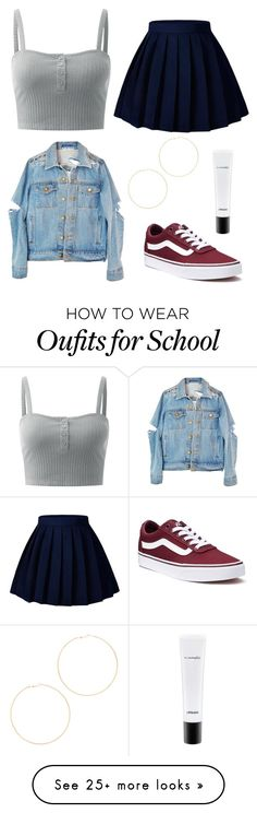 """Untitled #271"" by babymeano on Polyvore featuring Vans, MAC Cosmetics and Kenneth Jay Lane"