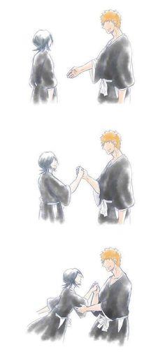 Ichigo E Rukia, Bleach Couples, Bleach Anime, Rwby, Otaku, Strawberry, Death, Ships, Batman