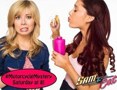 Sam and Cat ; Ariana grande love this Show so much haha