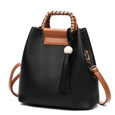 52c4192ab896 Hot-sale designer Stylish PU Leather Handbag Bucket Bag Shoulder Bags  Crossbody Bags For Women Online