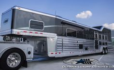 4-Star Deluxe Model with Integrated Haypod and Side Rear Load available at Olympia Luxury Coaches - Austin Hicks (615) 280-1278