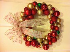 DIY wreath - so easy!