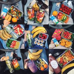Annie Tarasova so many healthy things, inpiration what to bring for work or school