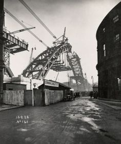 The Tyne Bridge, originally proposed by the Newcastle & Gateshead Corp at least in part as a way of addressing the chronic unemployment situation, became an icon.