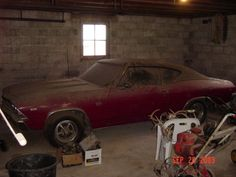 Chevelle SS-396 barn find.