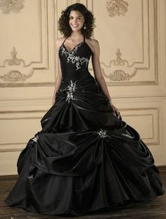 Black Quinceanera Dresses House of Wu Quince Collection 26609 image