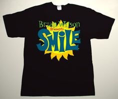 BEACH BOYS Brian Wilson Smile DELUXE ART CUSTOM T-SHIRT To order this go to http://www.collectorware.com.ar/tees-beachboys_andrelated.htm
