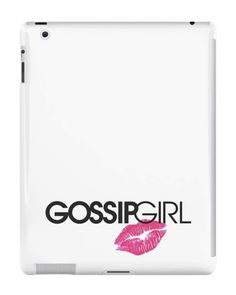 Our Gossip Girl - Logo and Lips iPad Case is available online now for just £9.99.    Fan of Gossip Girl? You'll love our Gossip Girl - Logo and Lips iPad case, available for iPad, iPad Mini & iPad Air.    Material: Plastic, Production Method: Printed, Authenticity: Unofficial, Weight: 28g, Thickness: 12mm, Colour Sides: White, Compatible With: iPad 2 | iPad 3 | iPad 4 | iPad Air | iPad Mini | iPad Mini 2, Features: Slim fitting one-piece clip-on case that allows full access to all device por