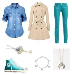 """""""Kaylie-ATTAS{book}"""" by crazykaylie on Polyvore featuring Converse, Full Tilt and Bling Jewelry"""