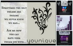 Are you looking to make some extra money?!? By playing on Facebook?!?  Join my team for just $99 and get over $250 in makeup! You can get paid daily commission (within 3 hours of a customers purchase)! Don't wait, start today! Get in on the Younique Train, it's going places and FAST!!