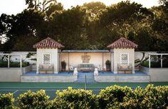 Tennis pavilion, I know how great is that...!    Malibu, California | Ferguson & Shamamian