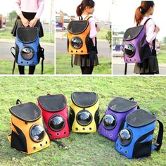 Pets carrying Space Capsule - Shaped Pet Carrier Breathable backpack