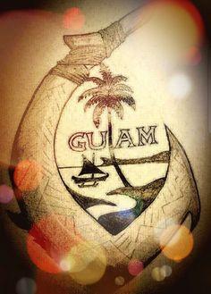 Island Pictures, Guam, Beautiful Islands, Sleeve Tattoos, Tatting, Vinyl Decals, Christmas Bulbs, Ink, Drawings