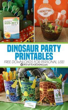 "Search for ""Dino"" Godzilla Birthday Party, Dinosaur Birthday Party, Birthday Party Themes, 4th Birthday, Birthday Ideas, Birthday Celebration, Dinosaur Party Invitations, Dinosaur Party Favors, Dinosaur Printables"