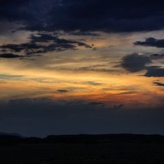 New Mexico evening sky! #UncontainedLife #sunset #VisitNewMexico http://ift.tt/1vFf1JS