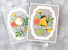 Multiple Die Cut Hacks Video by Jennifer McGuire Ink 3d Cards, Folded Cards, Jennifer Mcguire Ink, Card Making Tutorials, Hacks, Die Cut Cards, Bunch Of Flowers, Animal Cards, Card Making Inspiration