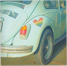 beetle, blue, car, favim, green