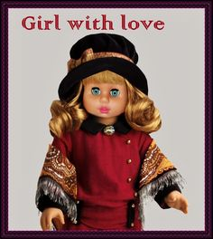 """GIRL WITH LOVE  --  SEE THE VIDEO OF THIS DOLL:  """"SHOW AND RARE BEAUTY"""""""