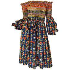 Documented 1971 Oscar de La Renta Dress (€755) ❤ liked on Polyvore featuring dresses, oscar de la renta, vestido, tube dress, jersey dress, elastic dress and oscar de la renta dresses