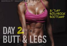 BodyRock.tv | The Worlds Biggest Home Workout Revolution 21 Day Challenge Day #2