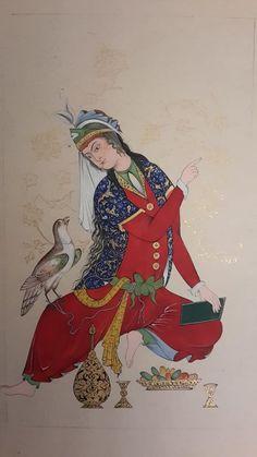 garden of the far east Drip Art, Wonder Art, Iranian Art, Turkish Art, Historical Art, Art Challenge, National Art, Islamic Art, Pattern Art