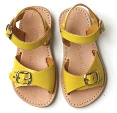 Theluto sandalen Angie geel (maat 24-30)