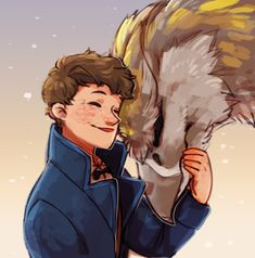 Newt Scamander /Fantastic Beasts and where to find them. queenie goldstein | Tumblr