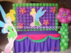 Tinkerbell Balloon Decor Graphics Code | Tinkerbell Balloon Decor Comments & Pictures
