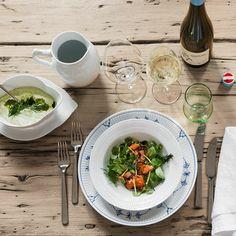 Kay Bojesen Grand Prix dinner fork, dinner knife, lunch knife, and lunch fork. Dinner Fork, Royal Copenhagen, Danish Design, Grand Prix, Curry, Table Settings, Lunch, Plates, Flatware