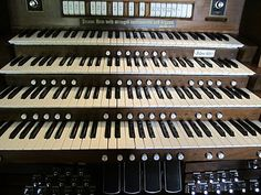 Love to look at my husbands pipe organ!  So interesting.