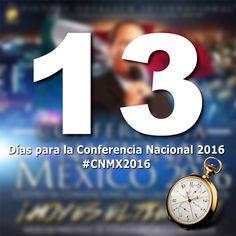 #CMNX2016 .... 13 DIAS MAS!