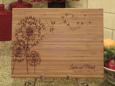 Personalized Cutting Board Cutting Board by EngrainedMemories, $32.95
