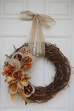 great idea! year round wreath diy