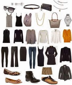 Donna Types Words: Fall/winter project 333 capsule wardrobe - for a business casual mom!