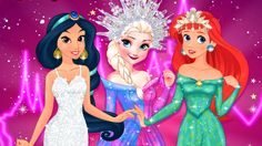 In Disney Princess Beauty Pageant, Elsa, Ariel and Jasmine have a great idea. They want to know who is the most beautiful girl and that's why they will enter a beauty pageant, where they will be judged wearing two different outfits. Let the most beautiful girl win in the game called Disney beauty pageant! For the great challenges you will be their amazing stylist. Elsa is first. She will need a glamourous outfit for the swimsuit challenge, so choose a nice one piece suit with a great cut out… Princess Games, Disney Princess, Princess Beauty, Glamorous Outfits, Play Game Online, Great Cuts, Game Calls, One Piece Suit, Beauty Pageant
