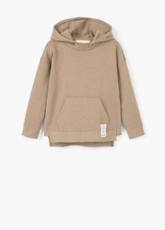 Kangaroo pocket hoodie   MANGO KIDS