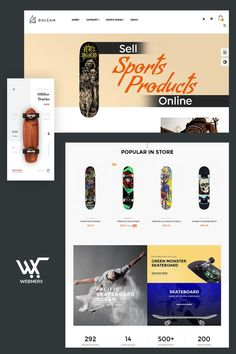 Webmerx is the best ecommerce platform for creating a sporting goods online store. Launch your website and start selling. 😊🤑