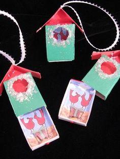 Matchbox Ornament DIY