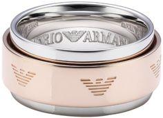 Emporio Armani Damen-Ring Sterling-Silber 925 Emporio Armani Damen-Ring Silber EG3052221-8 Gr.56 (17.8) EG3052221-8