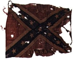 American Civil War Artillery - Battle Flag of the Alabama. Confederate States Of America, Confederate Flag, Confederate Monuments, American Civil War, American History, Early American, Southern Heritage, Southern Pride, Civil War Flags