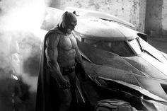 Zack Snyder Reveals Batman and the Batmobile! - SuperHeroHype