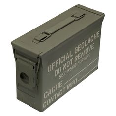 Geocache Containers | 30 Cal Ammo Cans | Geocache supplies |-JM Cremps Adventure Store