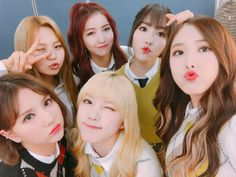 Gfriend M Countdown backstage