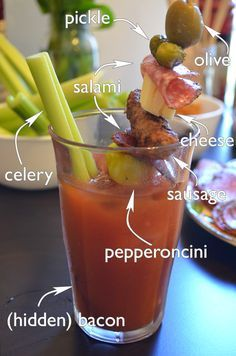 WTFab: Best Bloody Mary recipe + 8 garnishes for your epic bloody mary bar